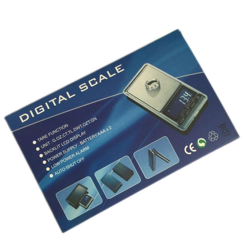500g 0,01 g skaitmeninės kišeninės svarstyklės 500G 0,01 g - Matavimo prietaisai - Nuotrauka 6