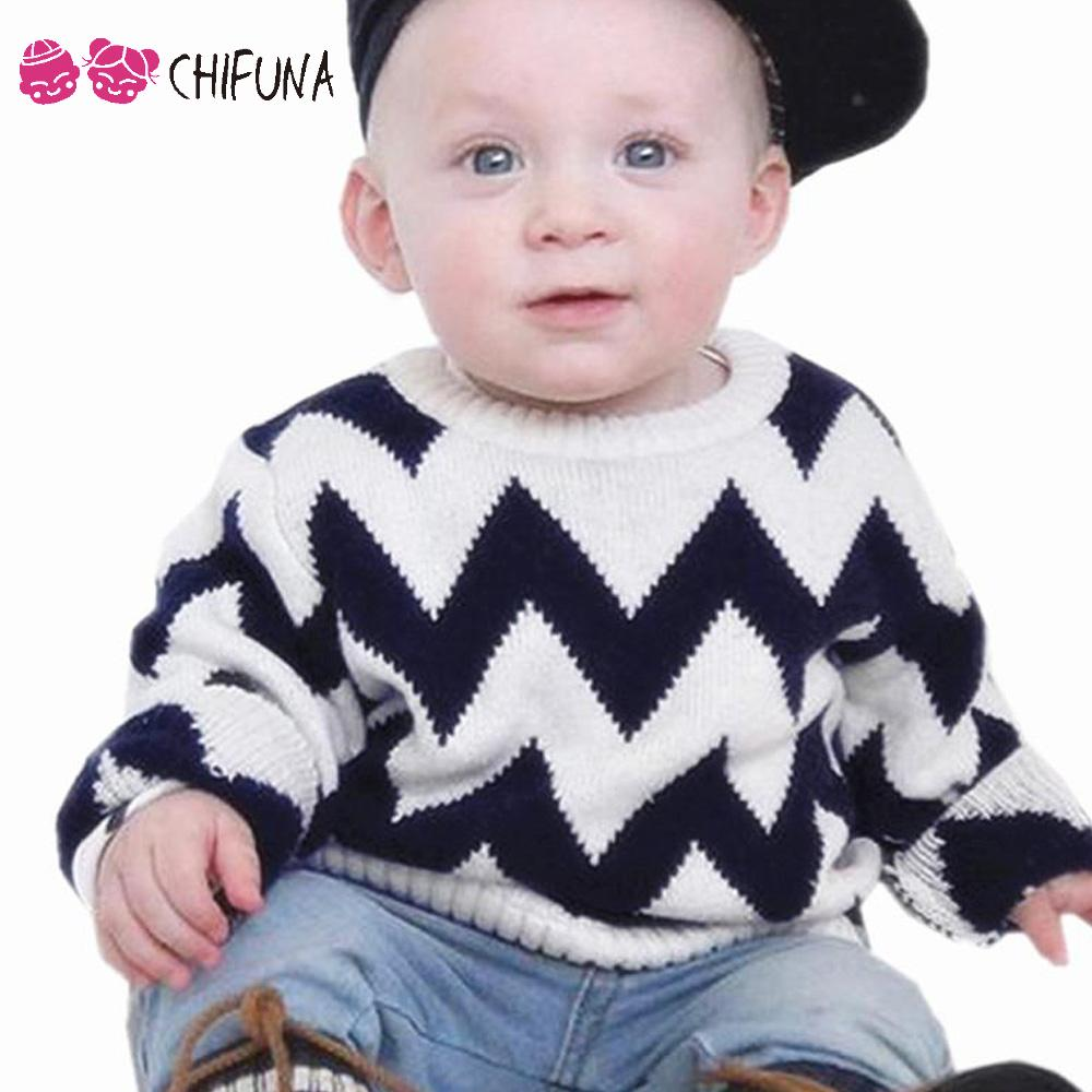 6e2c5489610 2017 New Fashion Baby Boys Sweaters Kids Clothes Black Grey Waves Pullovers Boys  Clothes Tops Children Knitted Sweaters