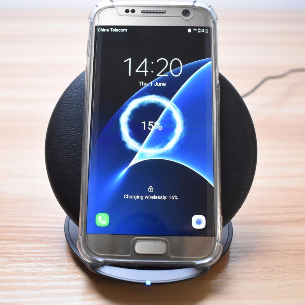 eAmpang Qi Pad de cargador inalámbrico rápido plegable / vertical - Accesorios y repuestos para celulares - foto 3