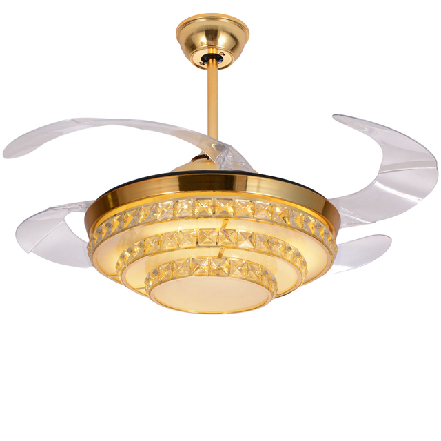 Factory wholesale high quality luxury stealth silent ceiling fan factory wholesale high quality luxury stealth silent ceiling fan lights european remote control crystal led ceiling aloadofball Gallery