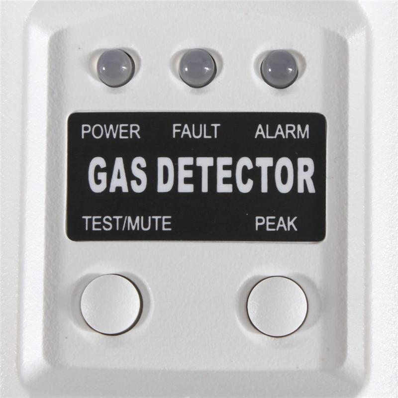 NEW Carbon Monoxide Propane LPG LNG Gas Leak Sensor Warning LED Warning Light Alarm Detector Tester Home Security