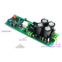 1pc MX90 Mono Power Amplifier Finished Board with Rectifier Protection Relay ONSEMI0302G 0281G by LJM
