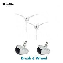 IBooWu щетки и колёса Запчасти для робот пыльсоча xiaomi Вакуумные очиститель инструмент для очистки