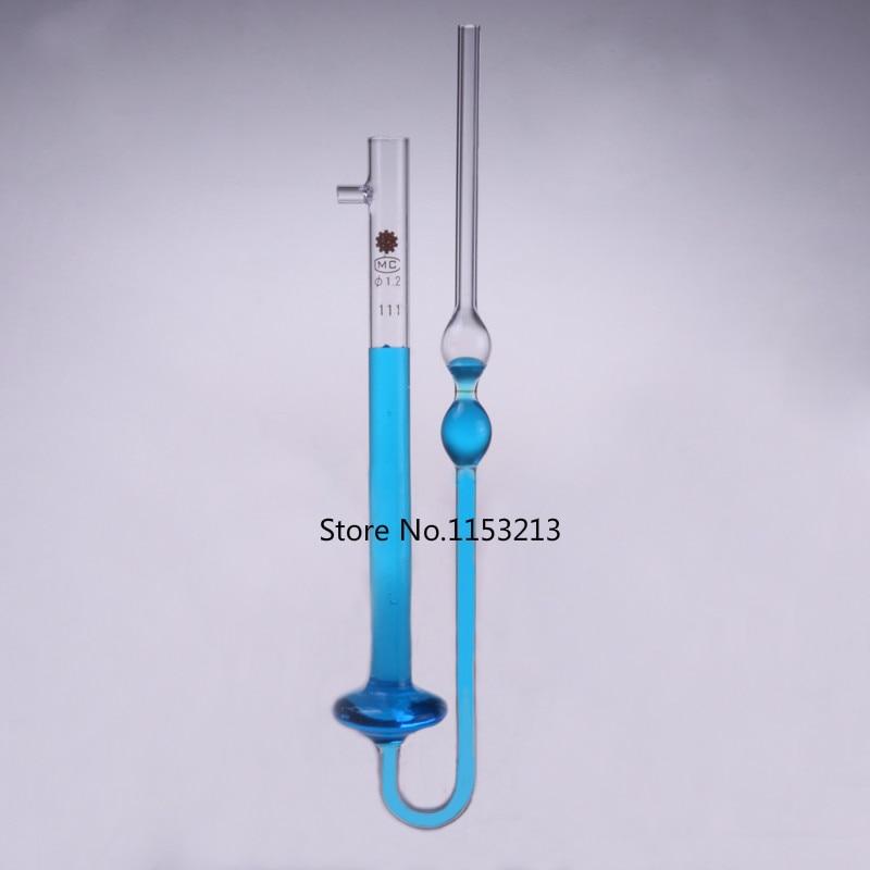 Glass capillary viscometer viscosity meter 0.4mm Kinematic viscometer size optional секатор fiskars powergear p 91 111510
