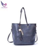LKPRBD Tassel Tote Bags Handbags Women Famous Brands Women Messenger Bags Sac A Main Mochila Feminina