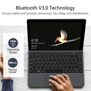 Image 5 - غطاء من نوع MoKo لجهاز Microsoft Surface Go ، خفيف الوزن فائق النحافة سماعة لاسلكية تعمل بالبلوتوث مع كابل شحن Micro USB