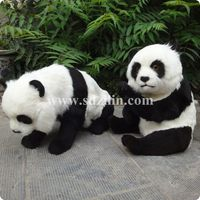 Zilin Manufacturer/ simulation panda toy,panda decoration low price and lovely