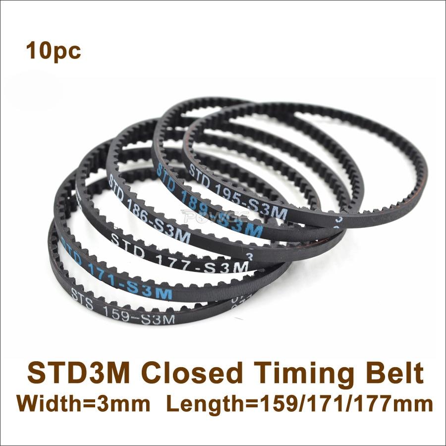 D/&D PowerDrive 90-S3M-384 Timing Belt