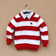 Free Shipping 5pcs/lot Autumn & Winter Style 3-8yrs Baby Boy's Cotton Knitted Sweater,Color Patched