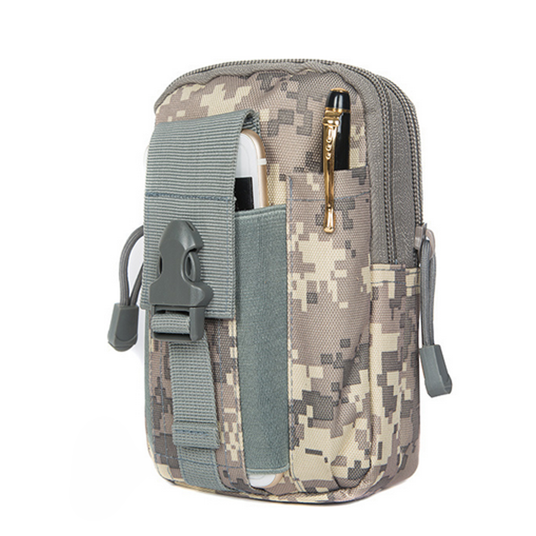 Men Tactical Molle Pouch Belt Waist Pack Bag Outdoor Camping Soft Back Backpack Sport Running Pouch Travel Bags