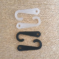 500 plastic J hook portable pothook hanger for cap socks , other small accessory