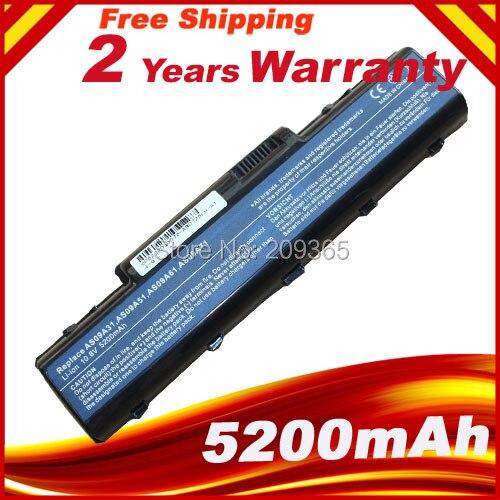 Batterie d'ordinateur portable Pour EMACHINE D525 D725 E525 E725 E527 E625 E627 G620 G627 G725 AS09A31 AS09A41 AS09A51 AS09A61 AS09A71