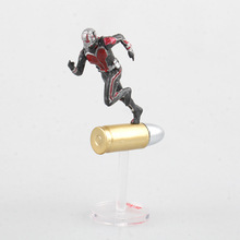 Marvel Civil War Captain America Super Heroes Ant Man Wasp Mini PVC Action Figure Collectible Model Kids Toys Doll 6.5cm 2018 marvel amazing ultimate spiderman captain america iron man pvc action figure collectible model toy for kids children s toys