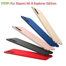 For Xiaomi Mi 8 Explorer Edition MOFI Fitted Cases PC Hard Case Cover Shell Ultra thin
