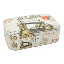 High Grade Fashion Printed Jewelry Box Casket