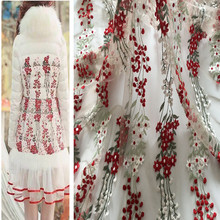 1 meter embroidered fabric for sewing 48 inches net fabrics tulle cloth patchwork 1 meter printed cotton fabric for sewing blend linen material ethnic fabrics table cloth 59 inches vintage style