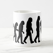 New Geek Male Photographer Evolution Coffee Mug Tea Cup Funny Evolution of Photographer Novelty Photography Photographing Gifts