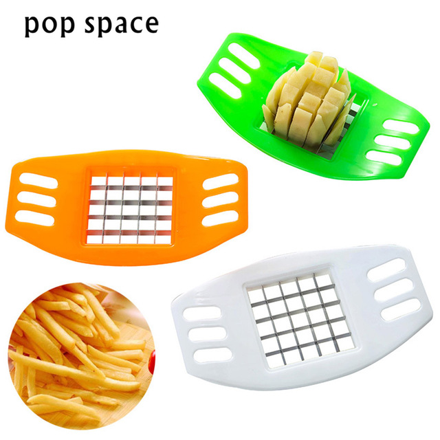 Pop Miejsca 1 Sztuka Francuski Fry Potato Chip Cut Cutter Warzywa