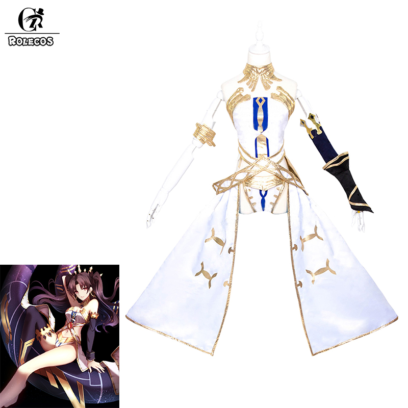0f5fd7db2fb Detail Feedback Questions about ROLECOS Game FGO Fate Grand Order Cosplay  Costumes Archer Ishtar Sexy Tube top with Headwear for Women Cosplay  Costumes on ...