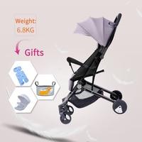 High landscape ultra light baby stroller can sit reclining shock proof cart with high view folding stroller multi color optional|Lightweight Stroller|Mother & Kids -