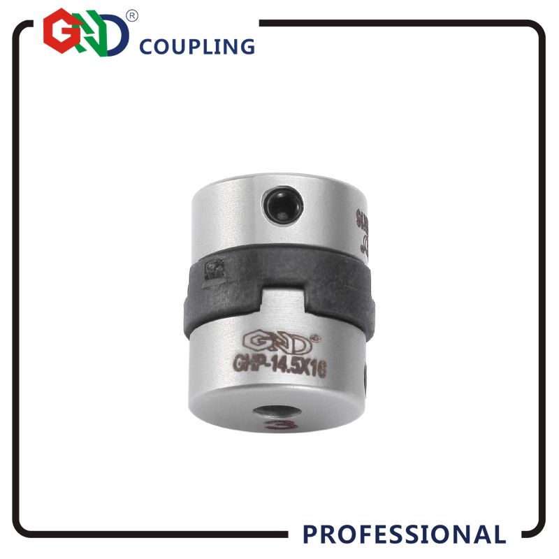 GND High-standard flexible couples stainless steel 4mm 6.35mm motor shaft CNC coupling torque oldham setscrew not jaw spider цена