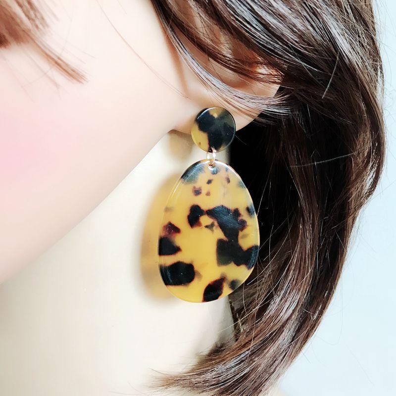 IMG_4483  Free Delivery New Design Tortoise Resin Style Elegant Earring HTB1FlS6eH1YBuNjSszhq6AUsFXag