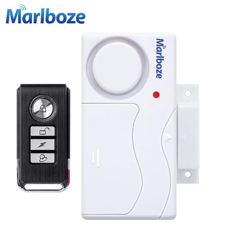 Jendela Pintu Masuk Keamanan ABS Remote Control Pintu Sensor Alarm Tuan Rumah Sistem Alarm Keamanan Pencuri Rumah Perlindungan Kit