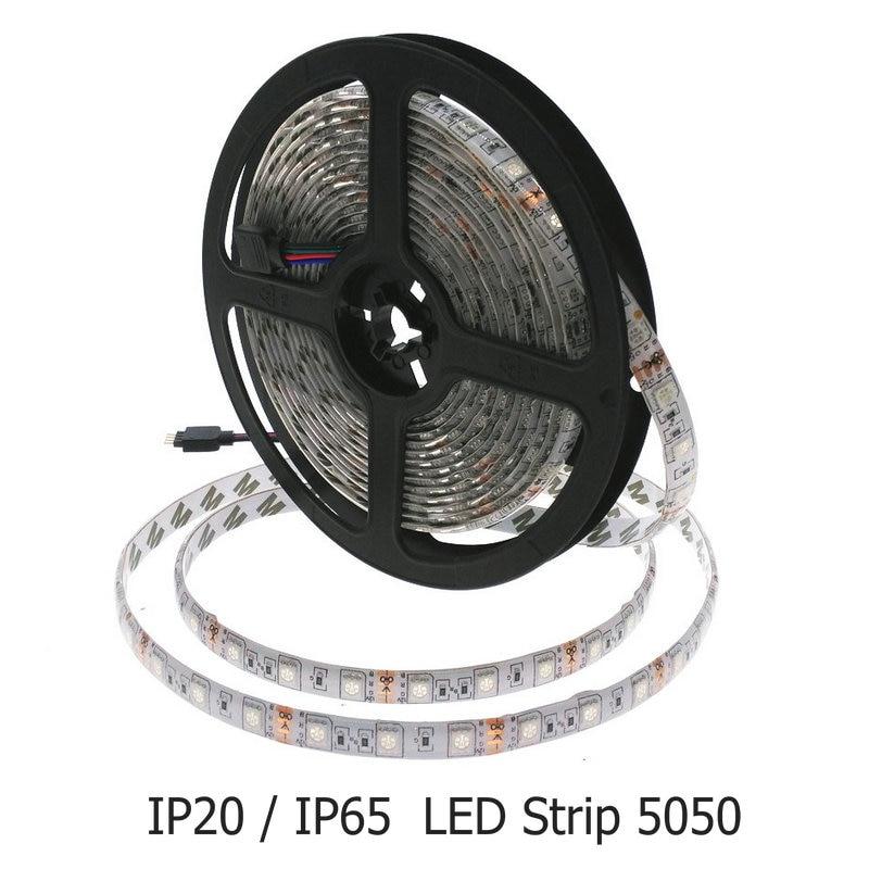 LED Strip 5050 RGB DC 12V 60LEDs/m 5m/lot Flexible LED Light 5050 LED Tape RGB/White/Warm White/Blue/Green/Red zdm 5m 72w led plant light strip 300pcs 5050 5 red 1 blue group dc 12v
