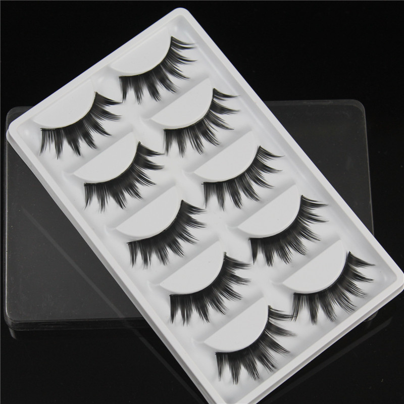 13 styles False eyelashes 5 pairs thick eyelash makeup items full strip eyelashes extensions fake winged lashes natural eyelash