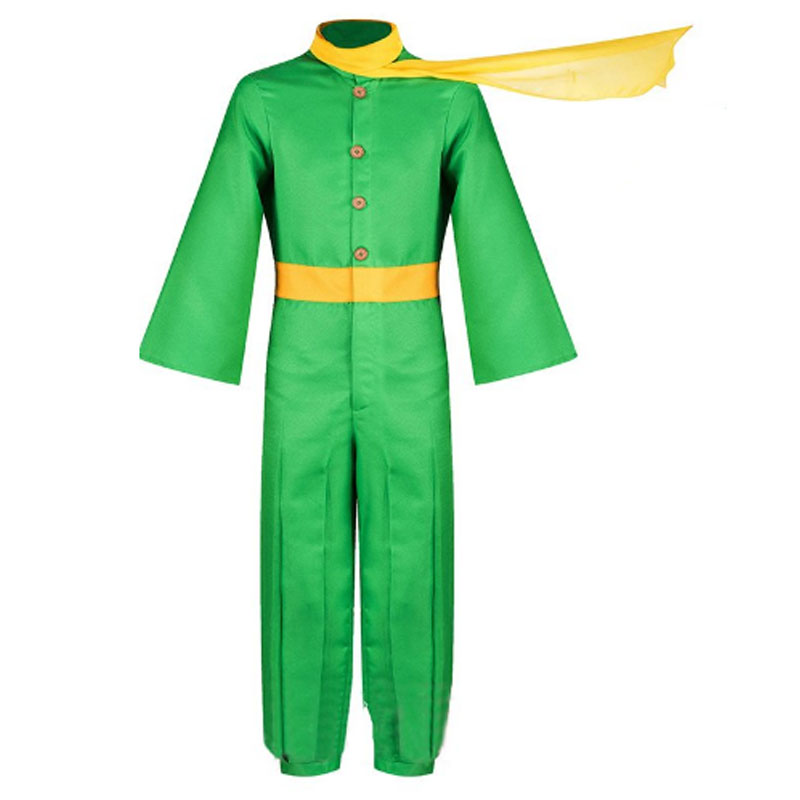 The Little Prince Costume Jumpsuit For Kids Adult Men's Party Halloween Cosplay Custom Made