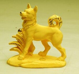 Alluvial gold velvet zodiac dog decoration fashion crafts zodiac birthday gifts home China Folk wholesale factory Arts outlets