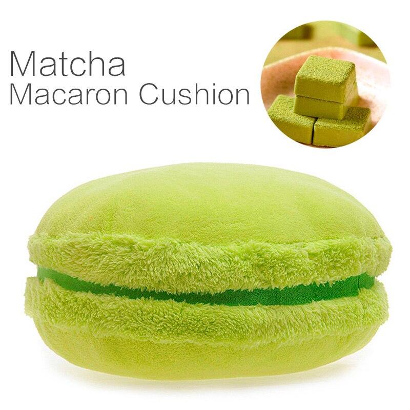 macaron cushion macaron dessert cushion round cake pillow in Cushion from Home Garden