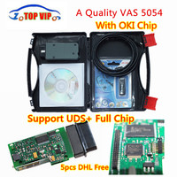 2017 DHL Free VAS 5054A More Stable Bluetooth High Quality OKI Full Chip Support UDS ODIS