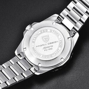 Image 5 - Pagani montre bracelet mécanique et automatique pour hommes, montre bracelet de Sport, mode militaire, étanche, en acier