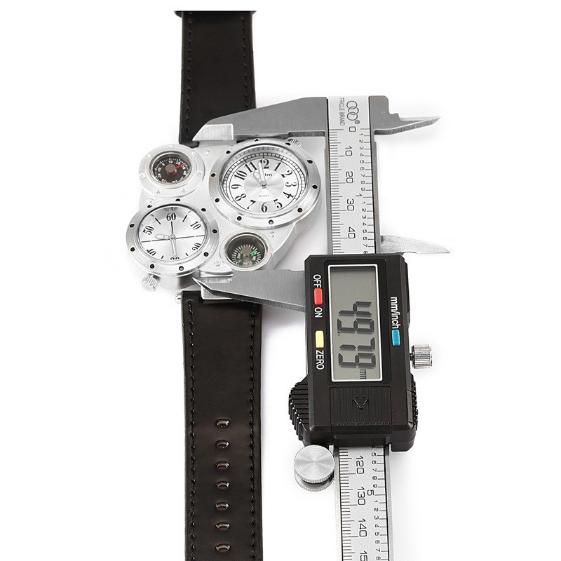OULM 9415 Moda Relojes de Cuarzo Hombres Marca Original Cara Grande - Relojes para hombres - foto 4
