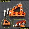 La nueva ktm billet rear brake pedal paso consejos 125-530 690 950 990 sx exc xcf aventura duque orange color