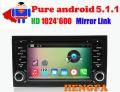 Pure Android 5.1 Car DVD Player 1024*600  For Audi A4 2002-2008 Radio BT RDS  Video GPS Navigation Wifi Quad Core Phone mirror