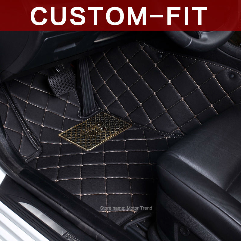 Custom fit car floor mats for Land Rover Range Rover L405 3D heavy duty car styling rugs carpet floor liners (2012-present)