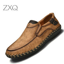 Plus Size 38-46 Men Driving Shoes Slip On Loafers Microfiber Leather Moccasin 2018 New Fashion Summer Footwear
