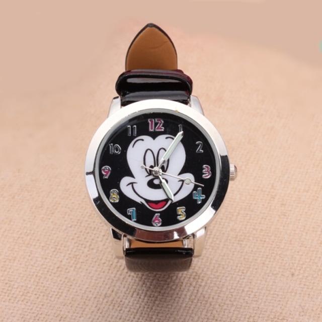 סאל חם חדש אופנה צבעוני שעון נשים ילדי קריקטורה שעונים מיקי חמוד שעונים יפה Relogio ילדים שעונים Reloj Mujer