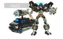 18 CM Action Figure Mainan Transformasi Robot Mobil mainan ABS Plastik Model Boy Mainan untuk Hadiah Natal Gratis Pengiriman
