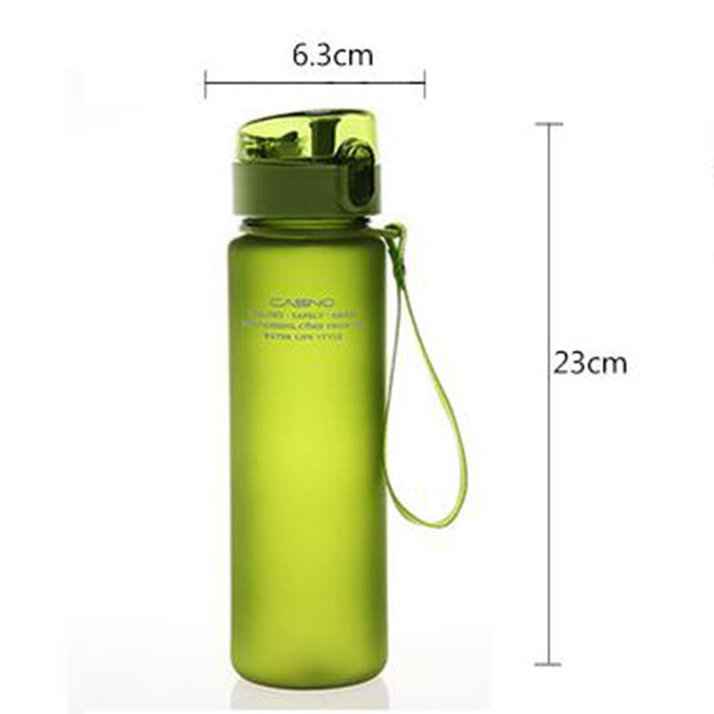 HTB1FlW.hDnI8KJjy0Ffq6AdoVXaU 560ML Sports Water Bottle Plastic Water Bottle Bike Bicycle Outdoor Cycling Climbing Drink Fruit Leakproof Bottles A