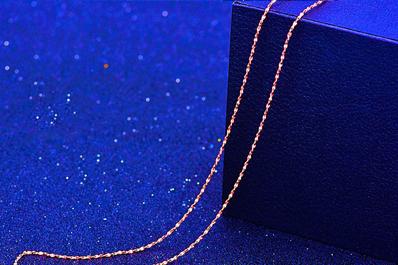 HTB1FlW7lyQnBKNjSZFmq6AApVXa5 - RE 45cm DIY women's chain Necklaces Friendly Copper Wave/Snake/Box Chains Jewelry Beads for Pendant Accessories rose Gold Color