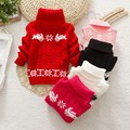 China Suéter de Los Cabritos Del Bebé Niños Niñas Niños Suéter de Otoño Invierno Primavera Suéter Niños Unisex Jersey de Cuello Alto Para Niños Chica