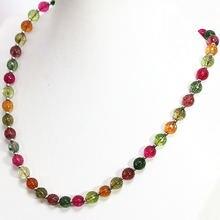 Очаровательные разноцветные ограненные круглые бусины из искусственного