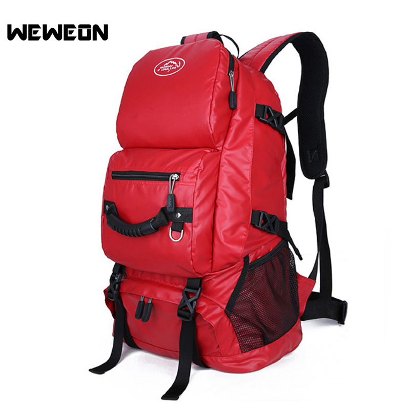 Camping Hiking Backpack Sports Bag Outdoor Travel Backpack Trekking Rucksack Women Mountaineering Climbing Backpack Cycling Bag 75l external frame support outdoor backpack mountaineering bag backpack men and women travel backpack a4809