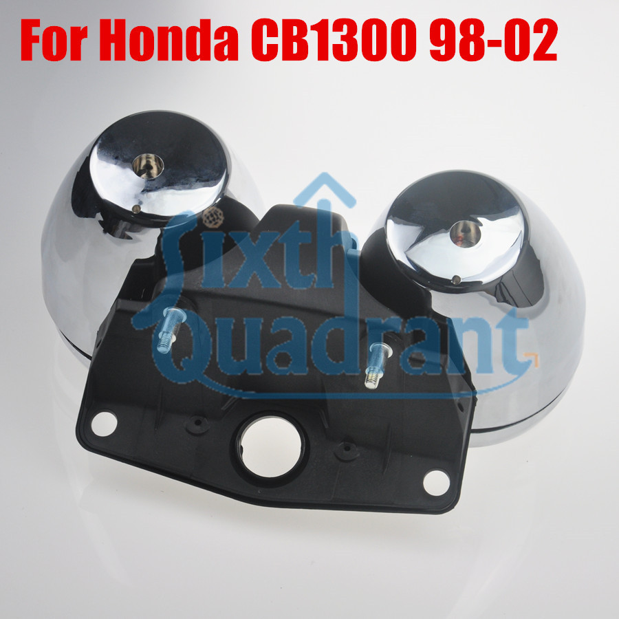 New Arrival Speedometer Tachometer Gauge Cover Case for Honda CB1300 1998-2002 цены онлайн