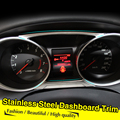 Stainless Steel Dashboard trim cover ring For MITSUBISHI ASX 2011 2012 2013