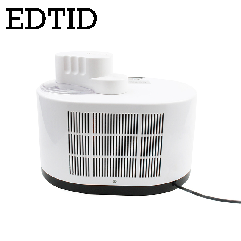 EDTID Self Cooling Ice Cream Maker used for Commercial and Home Kitchen to Prepare Delicious Ice Cream and Frozen Yogurt 3
