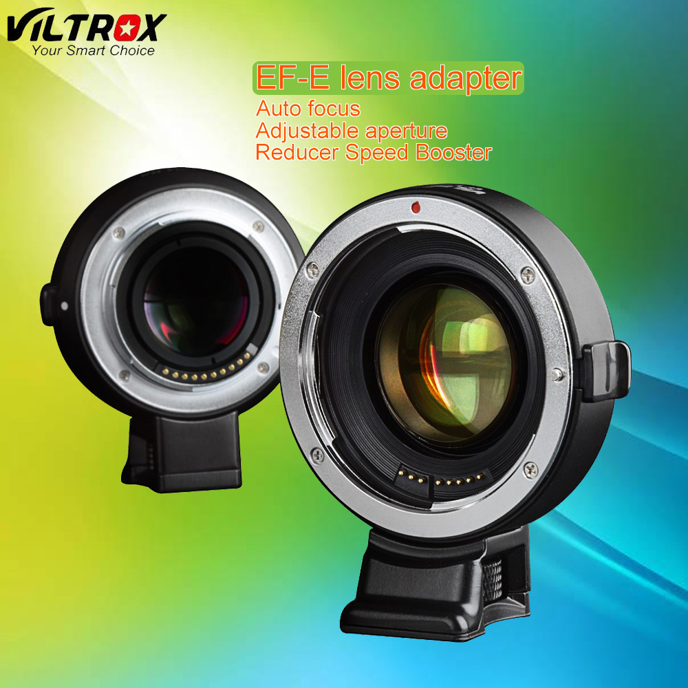 цена на Viltrox Auto Focus Reducer Speed Booster Lens Adapter for Canon EF EOS Lens to Sony NEX E Camera NEX-7 A6000 A7 A7R A7S A6300